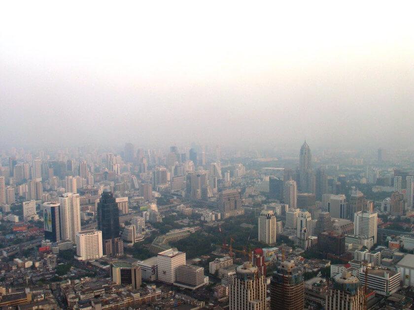 Bangkok 2005 von oben