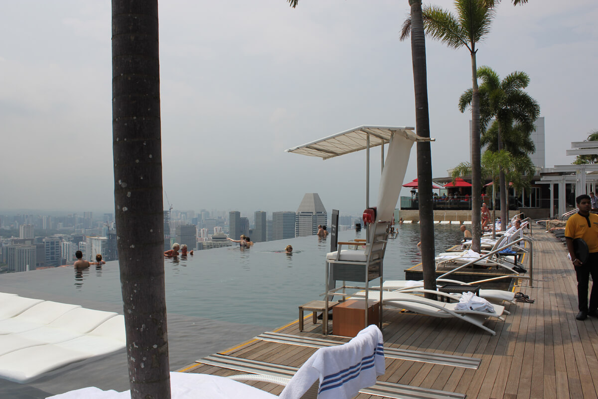 Singapur Hotel Infinity Pool