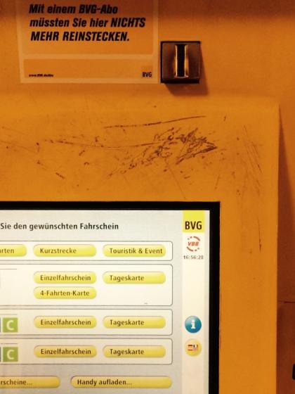 BVG Automaten funktionieren nicht