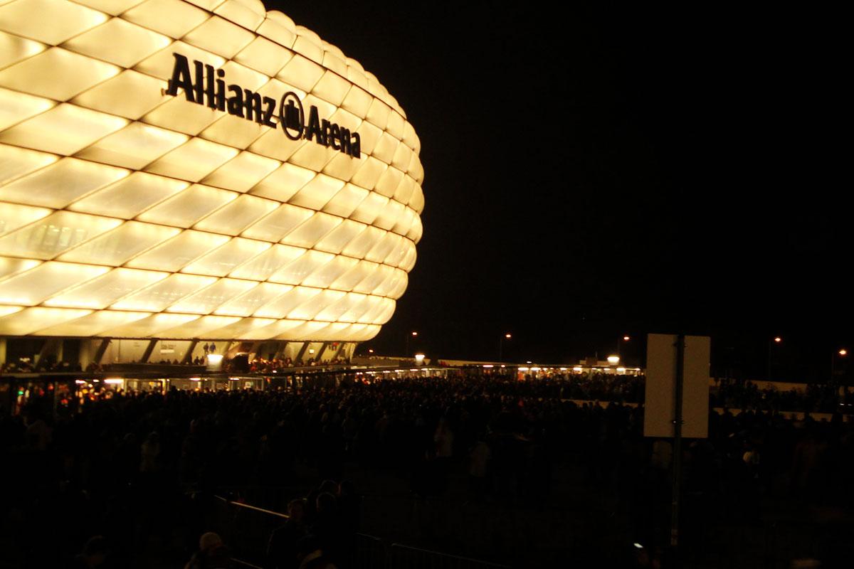Länderspielreise: Allianz- rena München