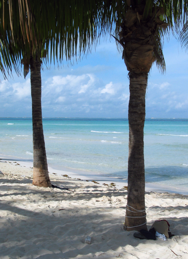 Silvester in Yucatan um 6 Uhr Morgens.