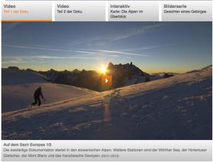 ZDF Dokumentation Alpen