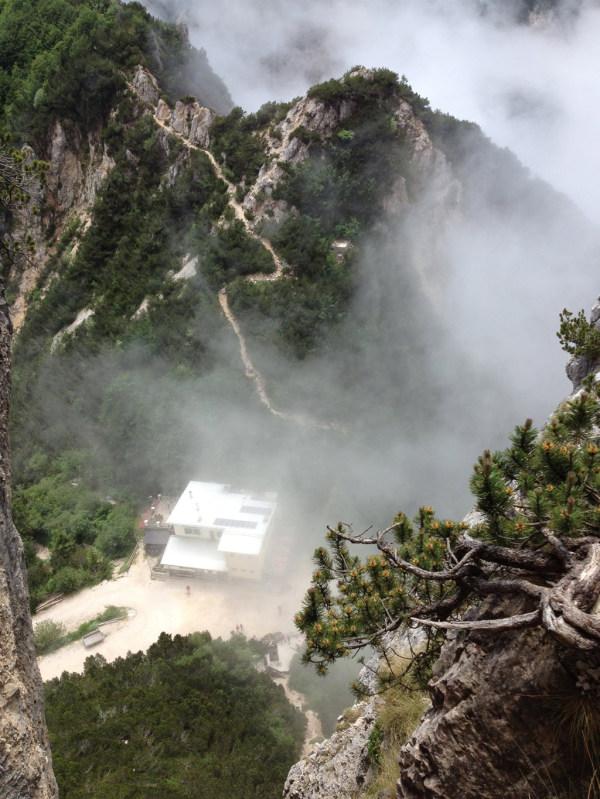 Alpiner Klettersteig