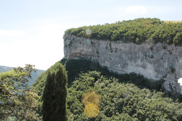 Felsmassive am Gardasee