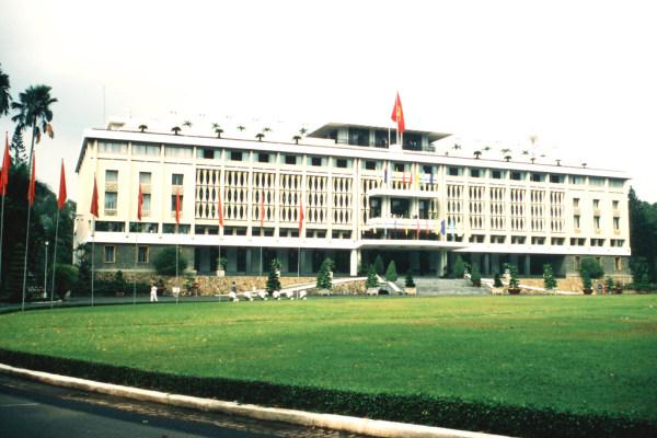 Der Präsidentenpalast in Saigon
