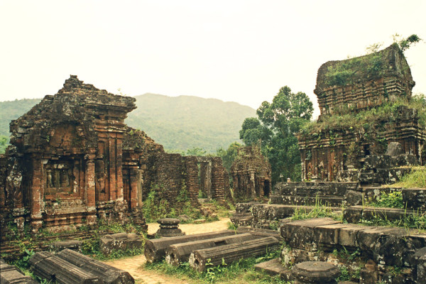 Tempel in Na Trang, Vietnam