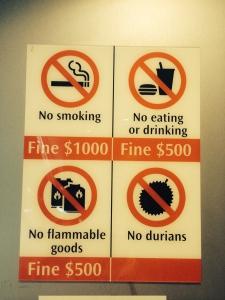 4 Tage Singapur #Durian