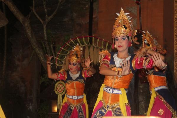 klassischer Balinesischer Tanz