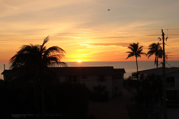 Sonnenuntergang über Bonita Springs