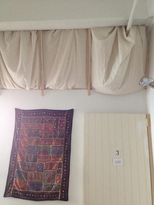 Im Grunde genommen haben wir in einem Wandschrank geschlafen...