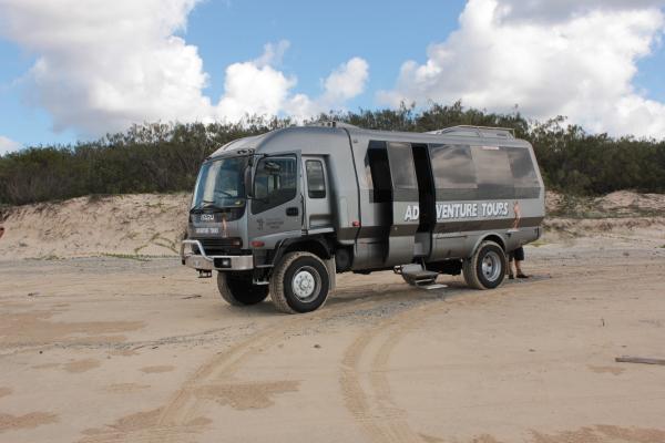 Offroad auf Fraser Island