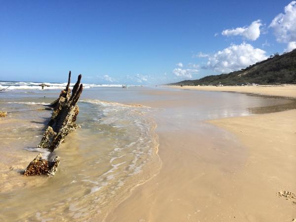 Pazifik Highway auf Fraser Island