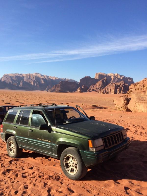 Jeep Tour Wadi Rum Jordanien