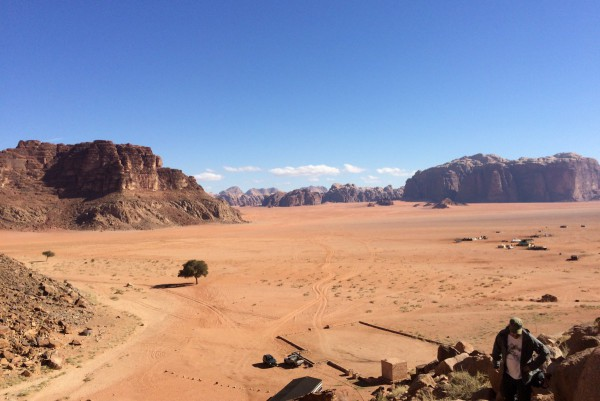 Jordanien Reisebericht Wadi Rum - Spektakuläre Aussicht