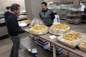 Akaba - In der Bäckerei