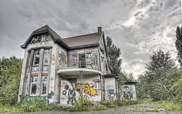 Geisterstadt Doel in Belgien