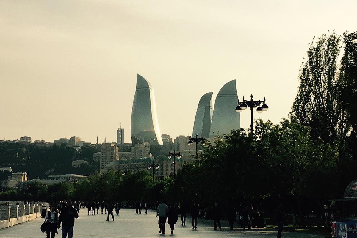 Baku Uferpromenade