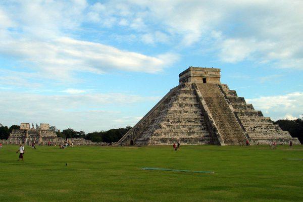 Chitzen Itza - beeindruckender Maya Tempel, Yucatan, Mexiko.