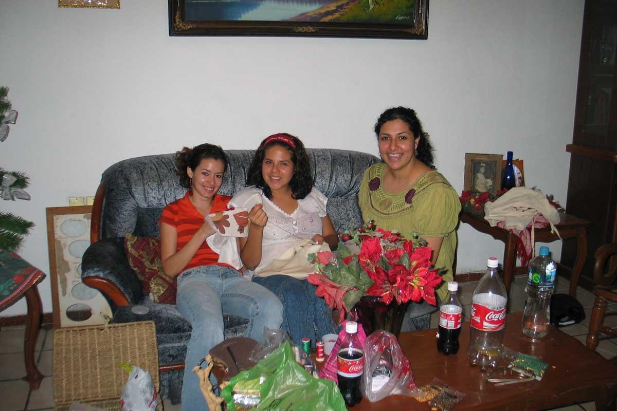 Die Damen aus Mexiko