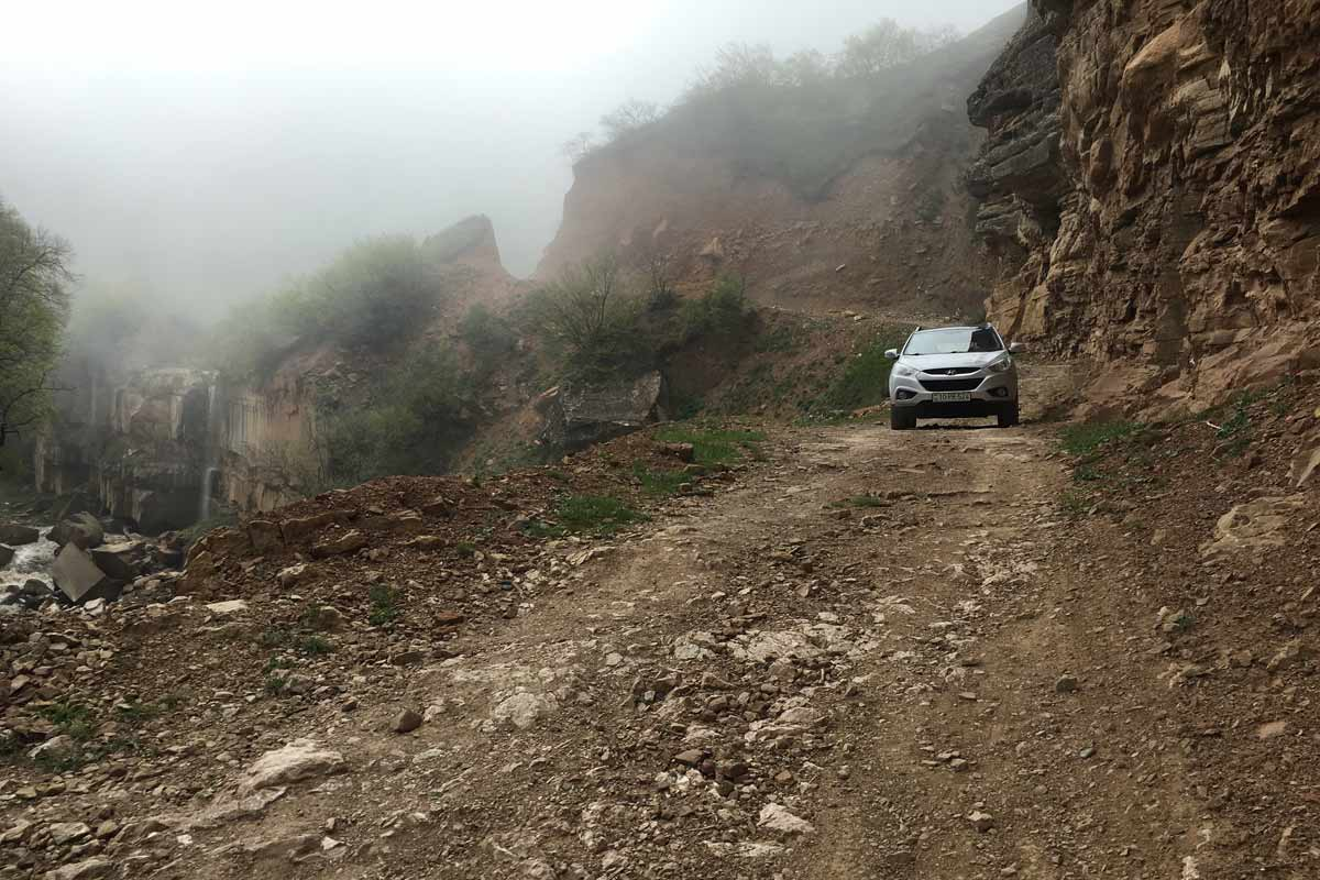 Offroad durch den Caucasus
