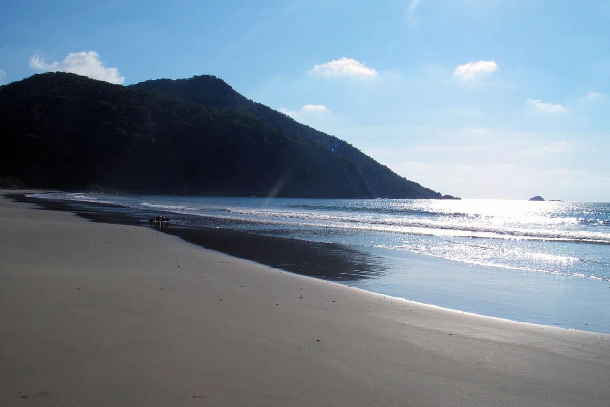 Versteckte Bucht nahe Tecoman