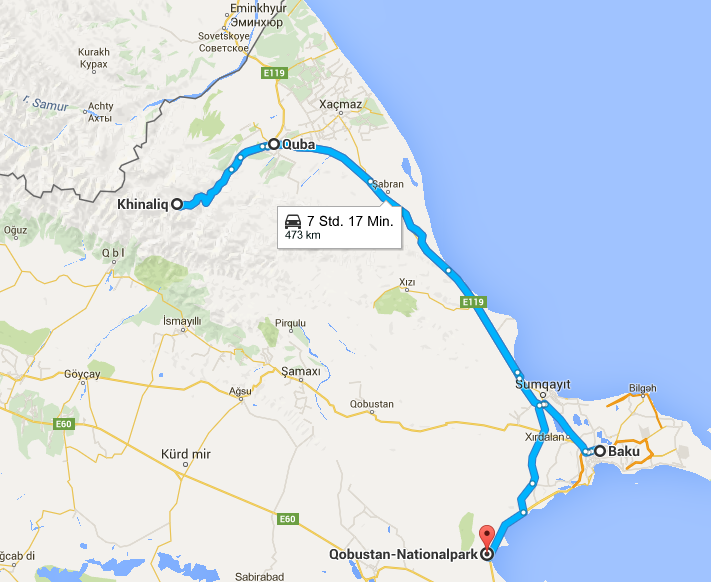 6 Tage Tour Azerbaijan