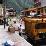 Zug fahren in Peru