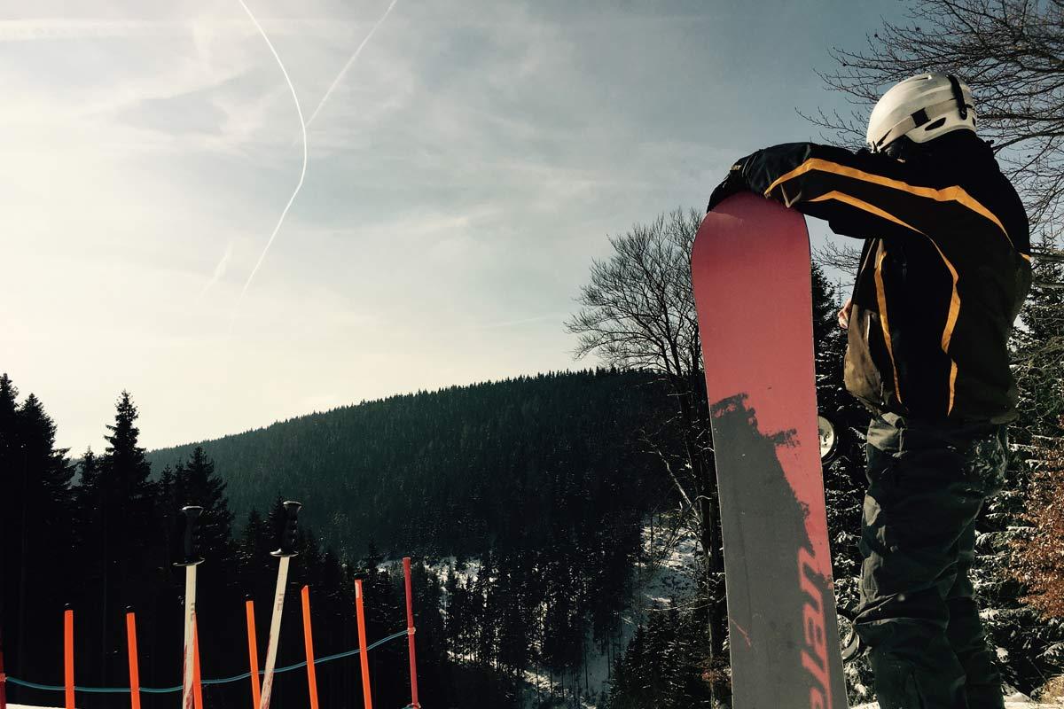Skifahren in Tschechien