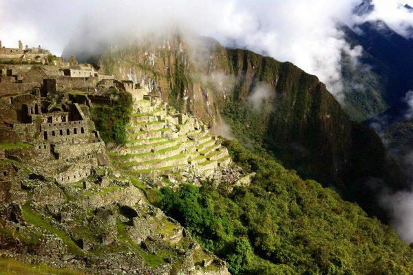 Die Ruinen von Machu Picchu, Peru