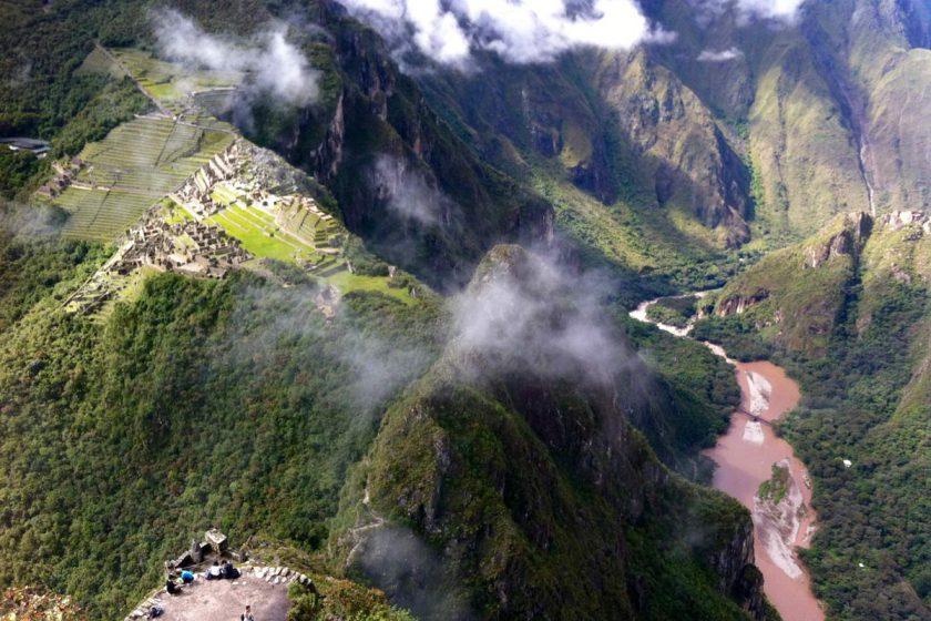 Machu Picchu von oben erleben