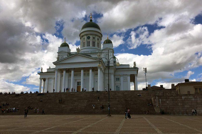 Unterwegs in Helsinki