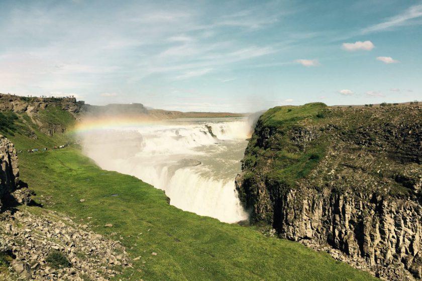 Island Gullffoss Wasserfall